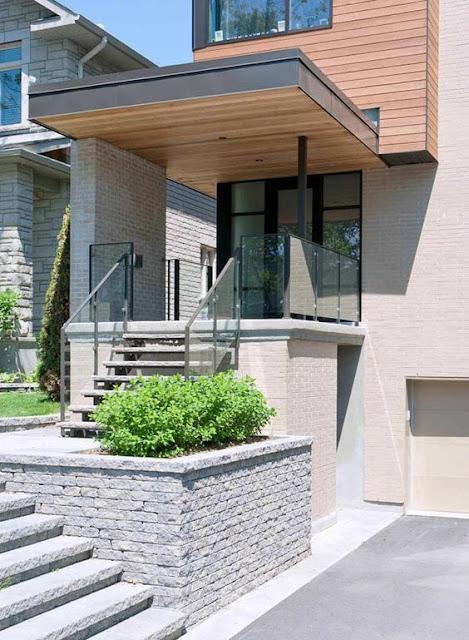 rumah minimalis dengan kanopi