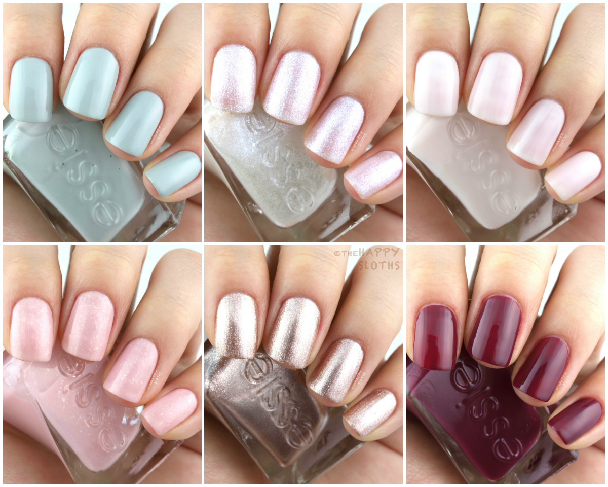 Essie Gel Couture Bridal 2017 Collection: Review and Swatches | The ...