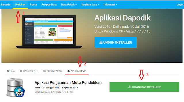 Cara download aplikasi PMP