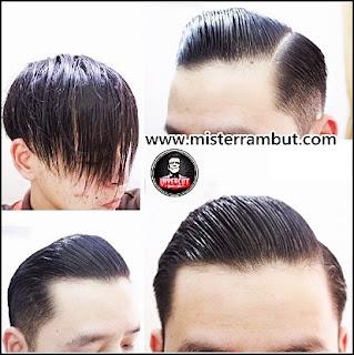 Pomade untuk rambut lurus