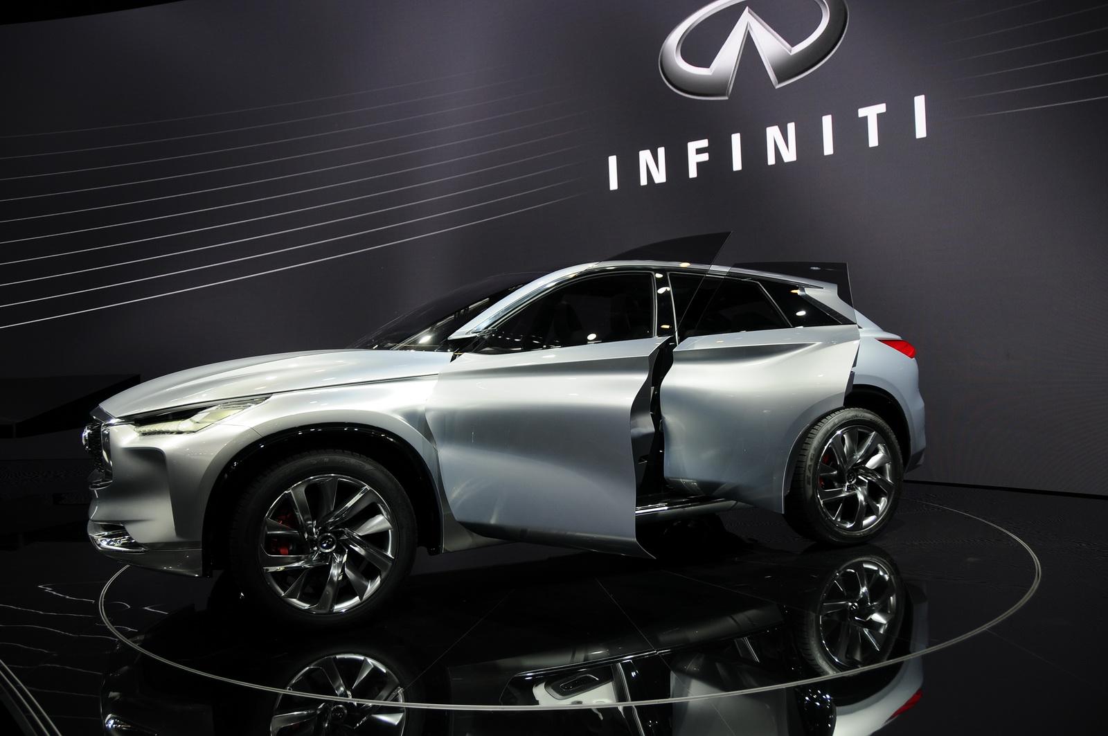 SUV Infiniti QX Sport được Infiniti dành riêng cho thị trường Trung Quốc