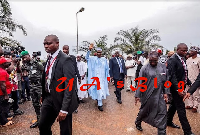 Buhari storms Osun for APC mega rally