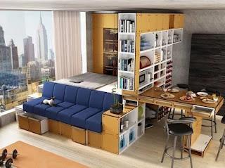 Современный дизайн малогабаритной квартиры