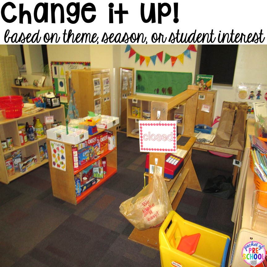 Classroom Ideas Pre K ~ How to set up the dramatic play center in an early