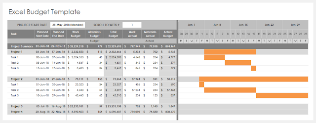 Download Excel Budget Template