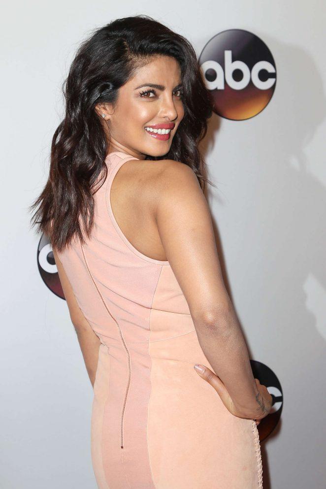 Priyanka Chopra Long hair Stills In Pink Dress
