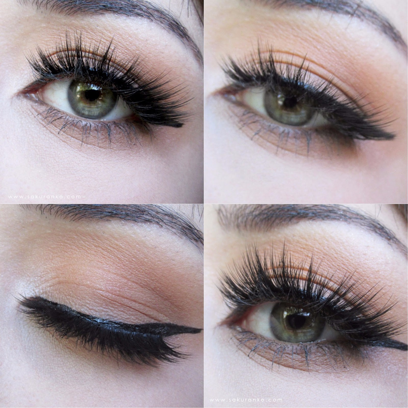 Sakuranko Kiss Lash Couture Faux Mink Collection Gala Eyelashes