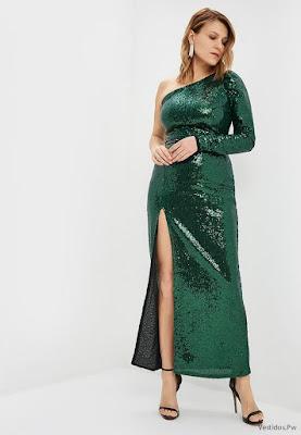 Vestidos de Fiesta Verde
