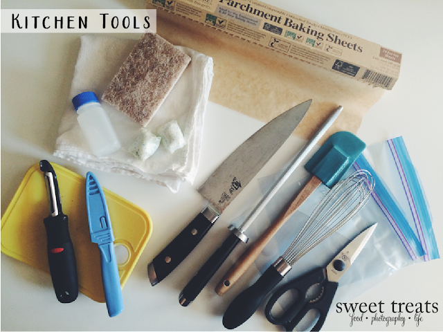 Traveling on AIP part 1: Kitchen Tools