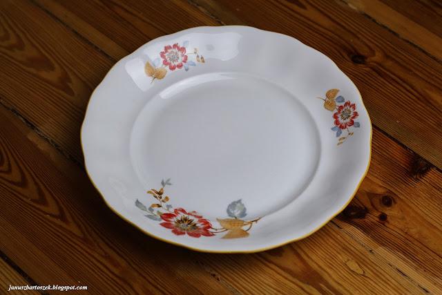 staromodny talerz