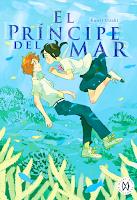 "Portada del cómic ""El príncipe del mar"", de Kaori Ozaki"