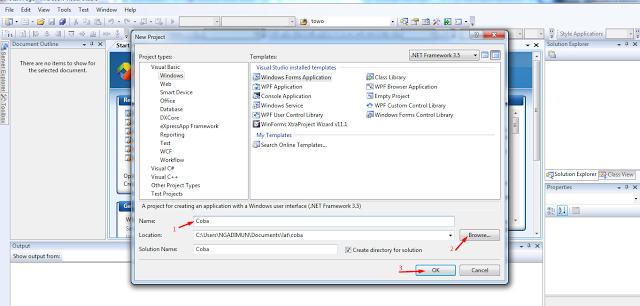 Koneksi Di VB.Net Dengan Database SQL Server