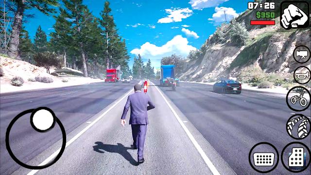 "BAIXAR GTA V LITE ""600MB"" GRAPHIC REALISTIC Mod PACK GTA Sa Lite Para Android"