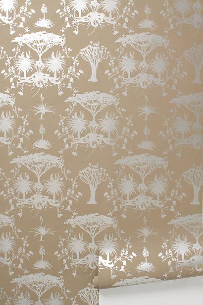 Anthropologie Wallpaper Gold