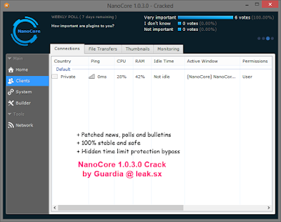 NanoCore R.A.T 1.0.3.0 Cracked Download