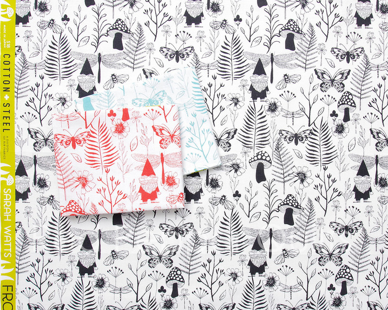 Front Yard by Sarah Watts for Cotton + Steel | © Red Pepper Quilts 2018