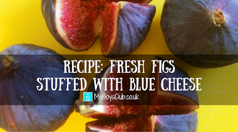 Recipe: Fresh Figs Stuffed with Blue Cheese