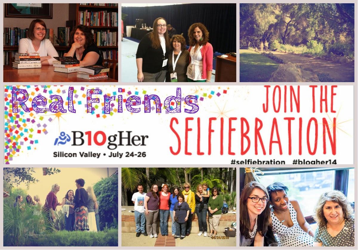 selfiebration friends collage