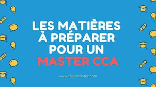 Tout savoir sur le Master Comptabilité Contrôle et Audit (CCA)