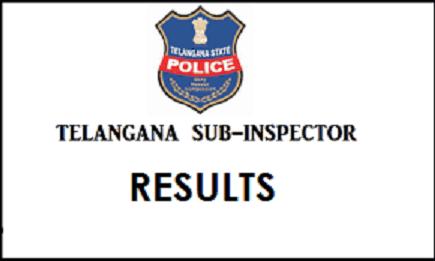 Telangana State TS SI Results