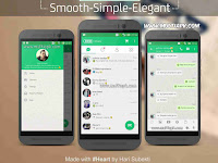 BBM Mod Fresh Green v2.9.0.51 Apk Free Sticker