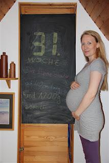 Bauchbild 31. Schwangerschaftswoche