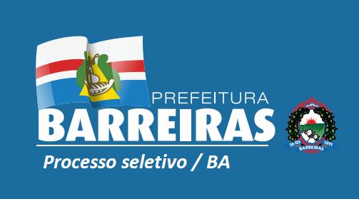 Prefeitura de Barreiras abre 875 vagas em todos os níveis