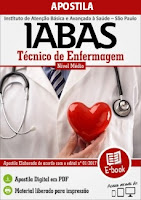 Apostila pdf  IABAS/SP TÉCNICO DE ENFERMAGEM GRATIS DOWNLOAD.