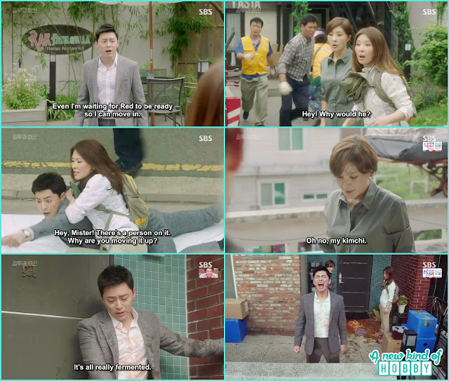bpal gang mothers and hwa shin fight at kim rak pasta for shifting and living with bpal gang - Jealousy Incarnate - Episode 8 Review