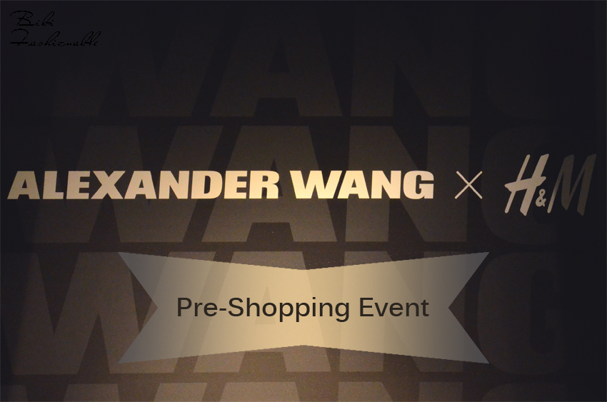 Pre Shopping Event Alexander Wang by HM