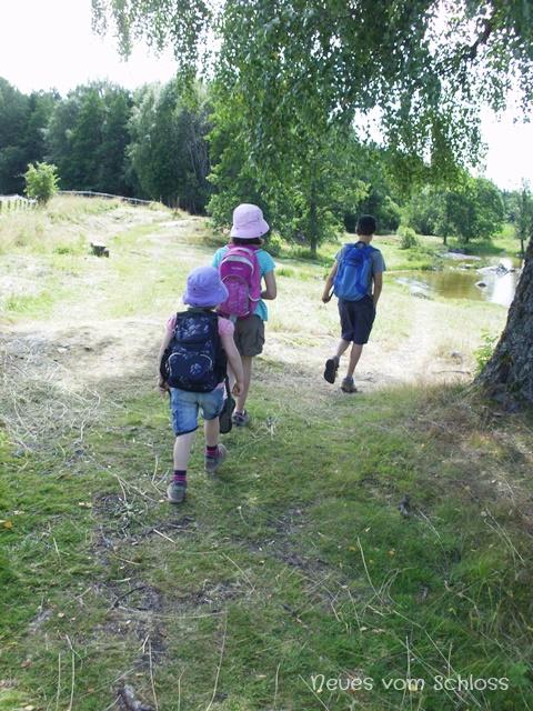 Schlosskinder auf Entdeckungstour-neuesvomschloss