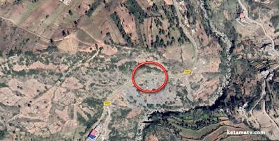 إنهيار أرضي بالقرب من دوار أغوجدارين يقطع طريق الوحدة (الطريق الجهوية 509)