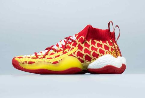 23df5de7b The new Pharrell Williams x adidas Crazy BYW 'Chinese New Year' Sneaker  will be available HERE at NK at 10am EST. The shoe features a Red Primeknit  upper ...