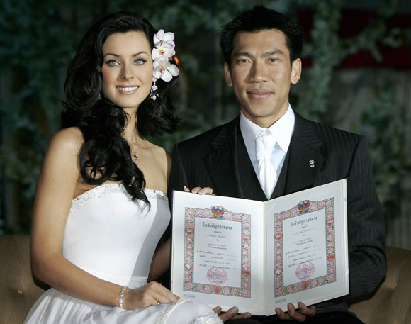 natalie glebova parador wedding