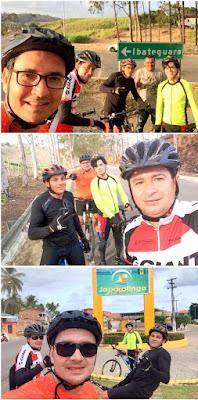 De Panelas-PE até praia de Péroba-AL de viagem de bicicleta