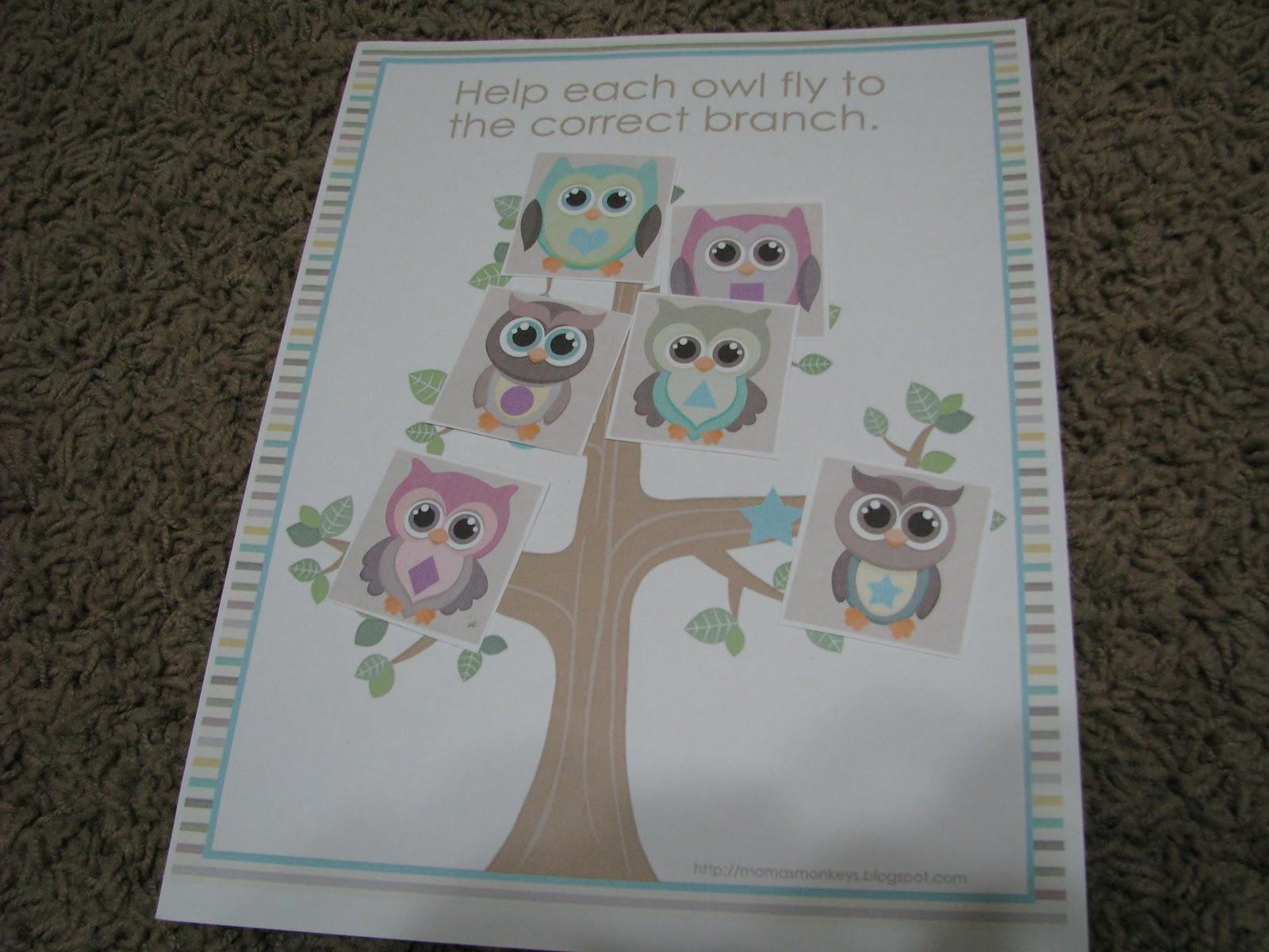 Mommy S Little Helper Owls