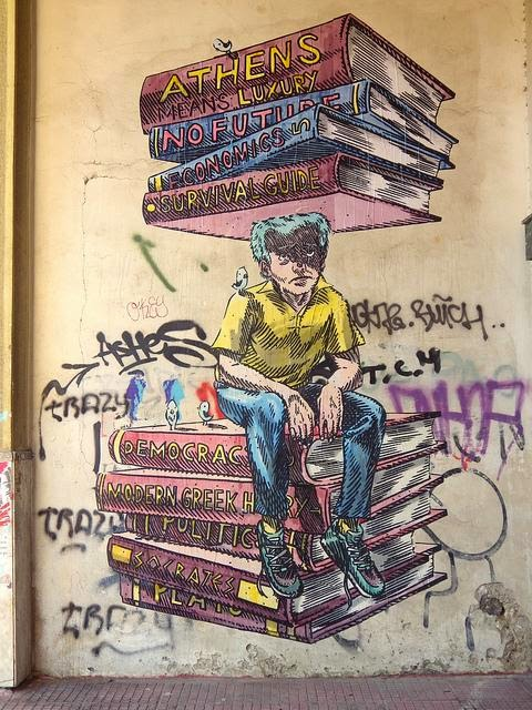 Dimitris Taxis Street Art Athens