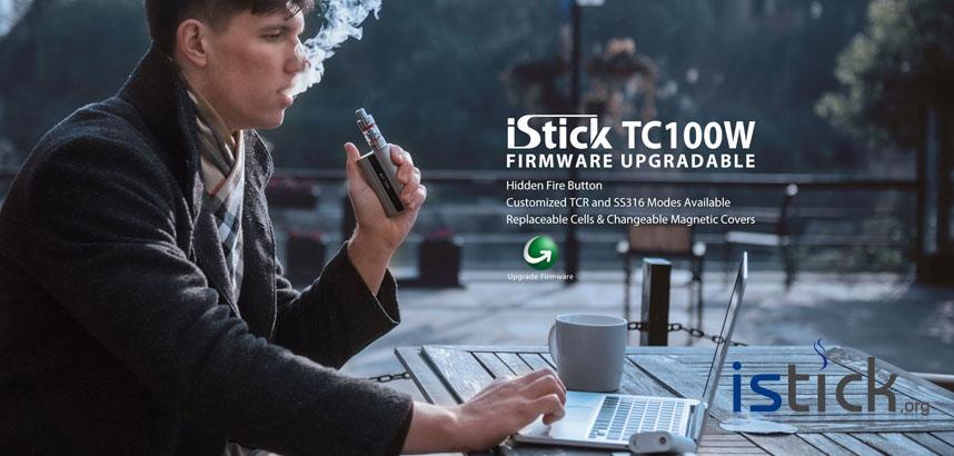 iStick TC100W Box Mod Poster