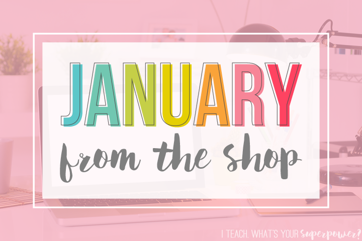 January from the Shop