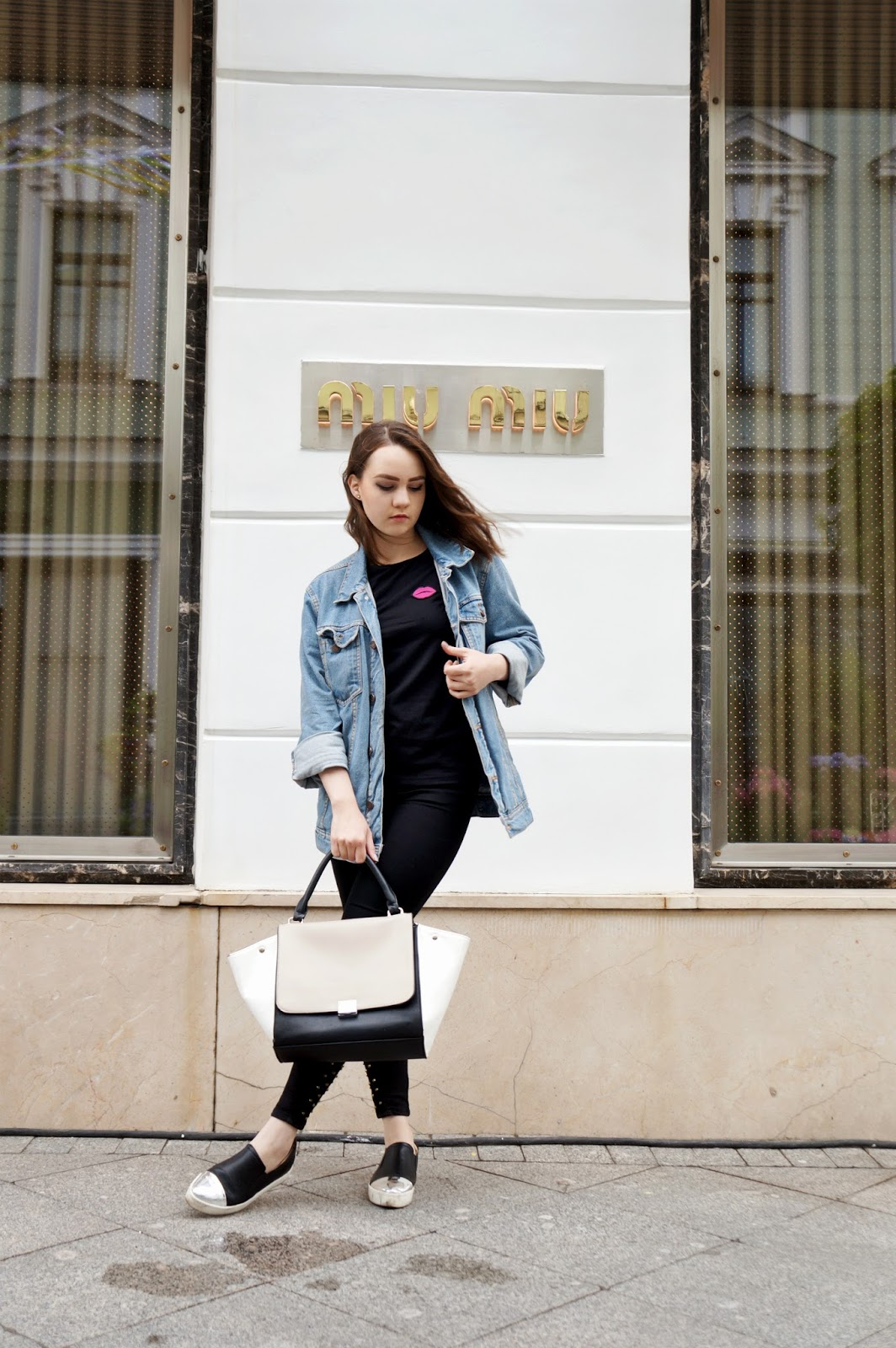 Alina Ermilova Oversized Denim Jacket Aka The Most ...
