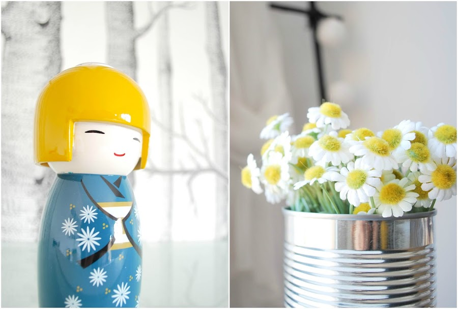 My home: color mostaza en el dormitorio VI por www.mylittlebrunch.com