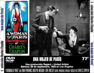 Una mujer de París (Charles Chaplin) - [1923]