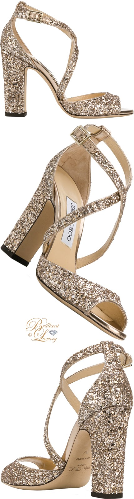 Brilliant Luxury ♦  Jimmy Choo Carrie sandals