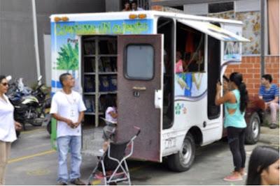 La Bibliomóvil, herramienta fundamental para el fortalecimiento cultural en Villavicencio