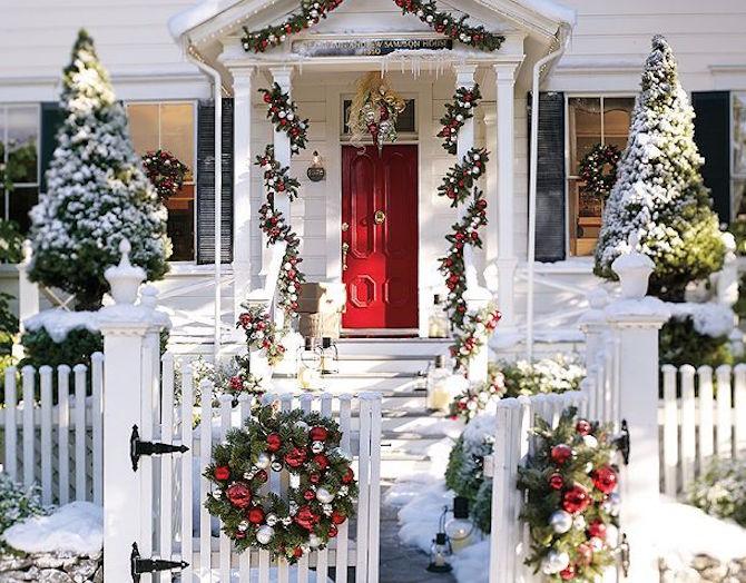 Fotos Casas Decoradas Navidad.10 Casas Americanas En Navidad La Maleta De Una Au Pair