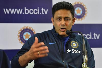 Indian Coach Anil Kumble