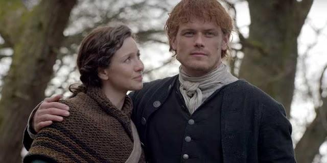 Jaime y Claire en la cuarta temporada de 'Outlander'