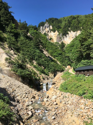 姥湯温泉の周辺