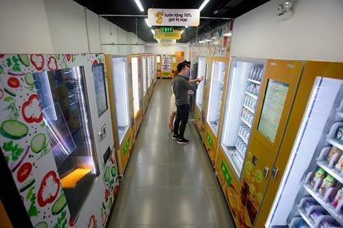 Hà Nội sắp có chuỗi cửa hàng tiện lợi không người bán