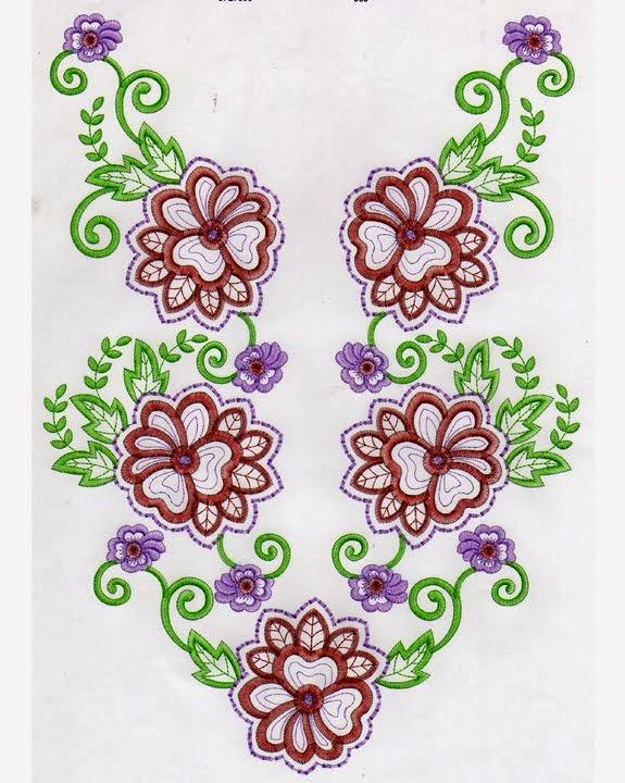 Purnama Bordir Collection Contoh Desain Motif Bordir